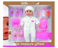 Lalka Bobas Little Treasure Set Dolls World 38 cm