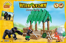 Jungle Guard Wild Story COBI-22100