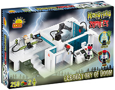 Laboratorium Monster vs. Zombies Cobi-28251